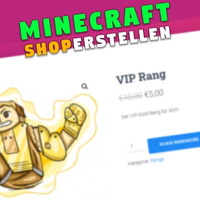 Minecraft Shop mit Rängen erstellen (WordPress)